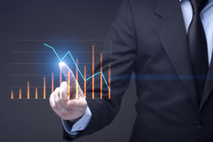 Negócio futurista Imagem de Stock