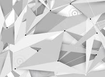 Negócio futurista da informática do Internet