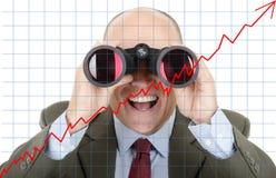 Negócio futuro Imagens de Stock Royalty Free