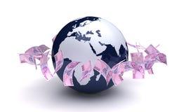 Negócio global Foto de Stock Royalty Free