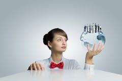 Negócio global Imagem de Stock