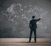 Negócio global imagens de stock royalty free