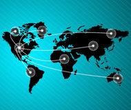 Negócio global da série dos conceitos. Imagens de Stock