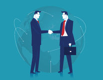 Negócio global Ilustração do negócio Conceito do negócio Vetor Foto de Stock