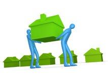 Negócio - imagem gerada por computador Home Fotografia de Stock