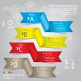 Negócio Infographic Fotos de Stock Royalty Free