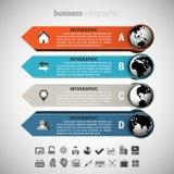 Negócio Infographic Fotos de Stock