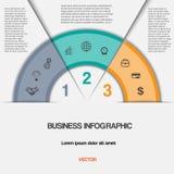 Negócio infographic para o projeto do sucesso e a outra sua variação Fotografia de Stock Royalty Free
