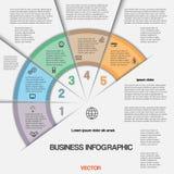 Negócio infographic para o projeto do sucesso e a outra sua variação Foto de Stock Royalty Free