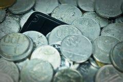 Negócio móvel Foto de Stock
