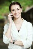 Negócio-mulher nova Foto de Stock
