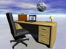 Negócio mundial e Internet. Imagem de Stock