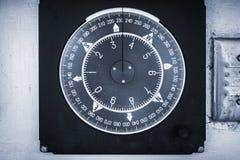 Negócio náutico do compasso em um painel de controle do iate fotos de stock royalty free