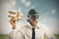 Negócio na ação Imagens de Stock