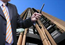 Negócio na cidade Imagens de Stock Royalty Free
