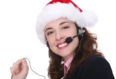 Negócio no Natal Imagens de Stock Royalty Free