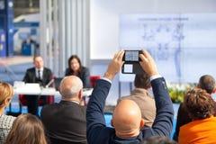 Negócio ou conferência profissional imagens de stock