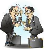 Negócio que vai mal em Ásia Imagem de Stock
