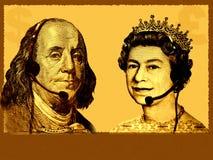 Negócio/serviço de atenção a o cliente internacionais conceptuais ilustração royalty free