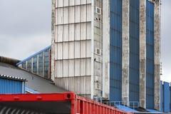 Negócio - skyline da cidade dos grampos Fotografia de Stock