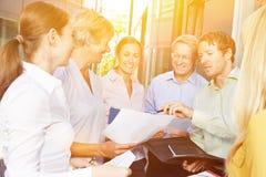 Negócio Start-Up Team Meeting Fotografia de Stock