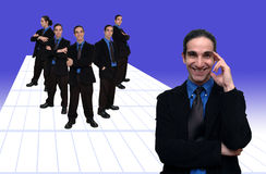 Negócio team-1 imagem de stock