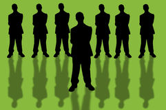 Negócio team-10 Imagens de Stock Royalty Free