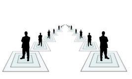 Negócio team-2 ilustração stock