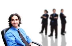 Negócio team-5 fotografia de stock royalty free
