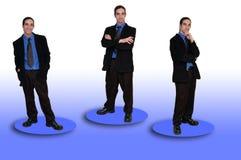 Negócio team-8 imagem de stock