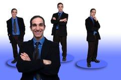 Negócio team-8 fotografia de stock
