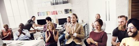 Negócio Team Achievement Success Goals Concept Foto de Stock Royalty Free