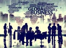 Negócio Team Brainstorming Meeting Conference Concept imagens de stock