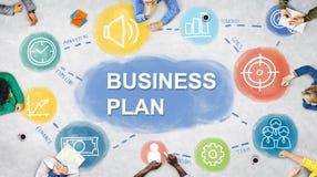 Negócio Team Brainstorming Planning Concept ilustração royalty free