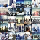 Negócio Team Collaboration Success Start Concept incorporado Imagens de Stock Royalty Free