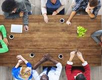 Negócio Team Marketing Global Communication Concept imagem de stock royalty free