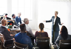 Negócio Team Meeting Seminar Conference Concept foto de stock royalty free