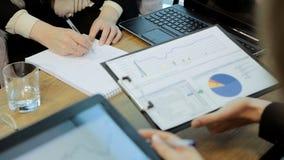 Negócio Team Plan Work In Office filme