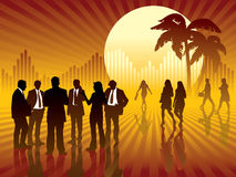 Negócio tropical ilustração stock