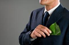 Negócio verde foto de stock
