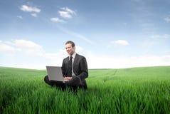 Negócio verde imagens de stock royalty free