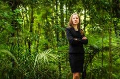 Negócio verde Fotografia de Stock