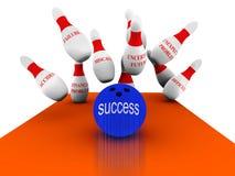 Negócio vol 3 do bowling Fotografia de Stock