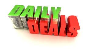 Negócios diários Imagem de Stock Royalty Free