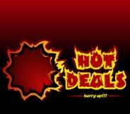 Negócios quentes Fotos de Stock Royalty Free