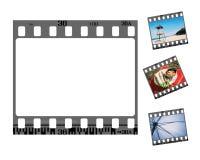 Negatief filmframe Stock Afbeelding