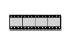 Negatieve filmstrook Royalty-vrije Stock Afbeeldingen