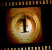 Negatieve filmstrook Stock Foto's