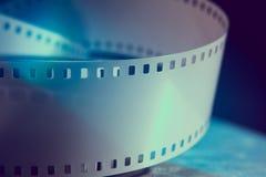 Negatieve 35 mmfilm Fotografische film Stock Afbeelding