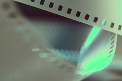 Negatieve 35 mmfilm Fotografische film Stock Foto